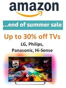 TVs GOING CHEAP AT AMAZON! - End of Summer Sale - SAVE £££