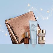 Free 4-Piece Gift and Luxury Makeup Case with Any £50+ Purchase