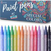 Lightning Deal +Voucher Paint Pens for Rock Painting