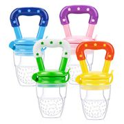 4 Pack Infant Teething Toy Teether Fruit Feeder - 55% OFF