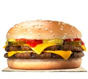 2 Double Cheeseburgers + 2 Small Fries for £3.49 at Burger King