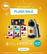 Coffee Pods and Machine Dolce Gusto