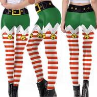 High Waist Skinny Elf Leggings - Just £7.28 Delivered