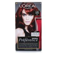 L'Oral Paris Prfrence Infinia Dark Red Ultra Violet 3.66 Permanent Hair Dye
