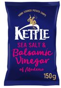 Best Price Kettle Chips Sea Salt & Balsamic Vinegar of Modena Crisps 150g