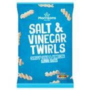Morrisons Salt & Vinegar Twirls 125g