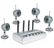 Price Drop! Thumbs up 4WAYCAM USB Wireless Surveillance System with 4 Cams