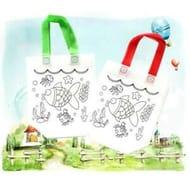 Children's DIY Environmental Protection Bag Kindergarten Hand Painted Graff Top