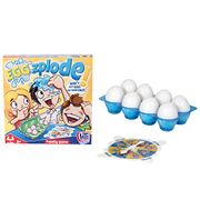 HTI Toys Traditional Games Eggzplode Family Board Game