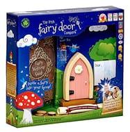 The Irish Fairy Door Company FD554215 Magical Irish Fairy Door, Pink