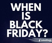 When is Black Friday 2019?