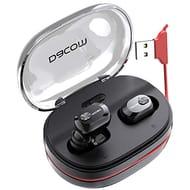 10% + 42% off Code True Wireless Earphones,1100mAh Charging Case 60hrs Playtime