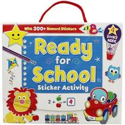 Ready for School Sticker Activity Pack