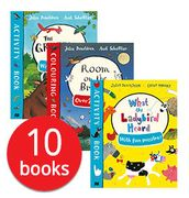 Julia Donaldson Activity Collection - 10 Books