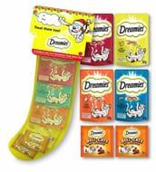 Dreamies Mixed Cat Treats Xmas Christmas Stocking 6-Pack