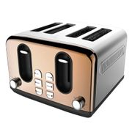 Wilko Copper Effect 4 Slice Toaster FREE C&C