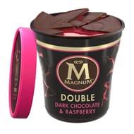 Magnum Tub Double Dark Chocolate & Raspberry Ice Cream 440ml