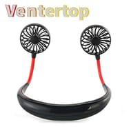 50% off USB Desk Fan Necklace Fan Hands-Free Fan Necklace Mini Fan