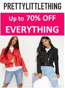 Up to 70% off - PRETTY LITTLE THING SALE