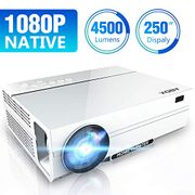 ABOX Projector 1080P Native Support 4K