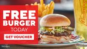 Free Burger and Fries