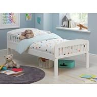 Argos Home Jesse White Toddler Bed Frame