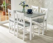 Dining Table and 4 Chairs Set