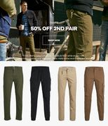 JACK & JONES - save 50% on Your 2nd Pair of Trousers