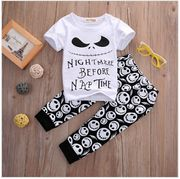 Brand New Nightmare before Christmas Baby Clothing Set 2 Piece