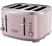RUSSELL HOBBS Bubble 4-Slice Toaster - Pink - Save £40.02