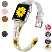 Maledan Leather Strap for Apple Watch 38mm 42mm 40mm 44mm