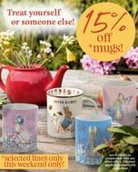 Beatrix Potter Gifts - 15% off Mugs