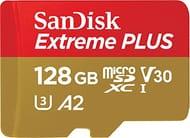 SanDisk Extreme plus 128 GB microSDXC Memory Card