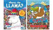 Where's the Llama? / Where's the Sloth? Search & Find Books