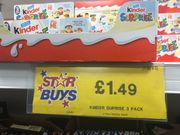 Minions Kinder Eggs Pack of 3 - Instore Home Bargins Liverpool