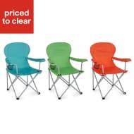 *HALF PRICE* Molloy Multicolour Metal Camping Chair