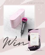 Win a Dyson Supersonic Hair Dryer & a 3 Month Supply of Grow by Hair Gain!