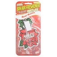 Wheelie Clever Bin Air Freshener - Red Roses