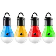 Ent Camp Light Bulb, Battery Powered Portable LED Lantern for Camping