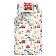 Catherine Lansfield Transport Bedding Set Toddler