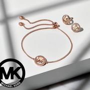 WIN a Michael Kors Love Rose Gold Tone Earrings and Bracelet