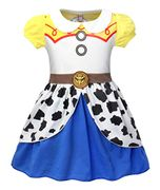 Girls Toddlers Jessie Costume Dress Up