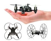 4-Channel Micro Mini-Drone Rolling Quadcopter with Wheels, Fly, Roll, and Flip