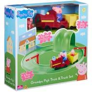 Peppa Pig Grandpa Pig's Train & Track Set