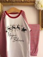 Christmas Personalised Kids Pyjamas