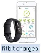FITBIT CHARGE 3 Advanced Fitness Tracker (Amazon Prime Deal)
