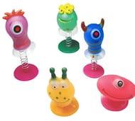6 Pcs Assorted Jump Pop up Monster Toys /