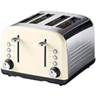 Sainsbury's Home Almond 4 Slice Toaster