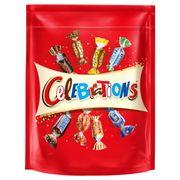 Celebrations Pouch ,Roses, Quality Street, Heroes Pouches