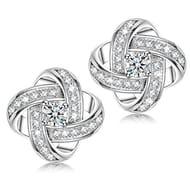 Alex Perry Satellite Series Women Stud Earrings, 925 Sterling Silver,